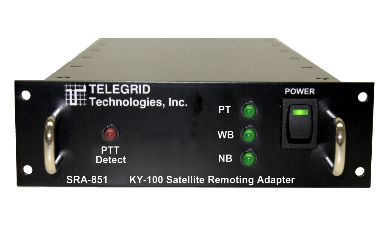 KY Voice Encryptor to Satellite